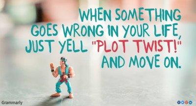 Plot Twist.