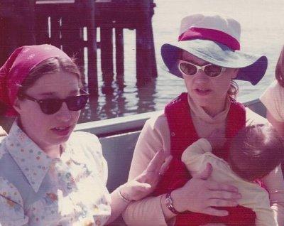 Mom, Sonya and Marie